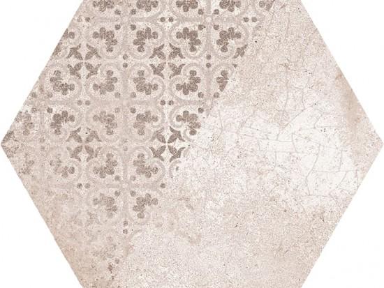 GINEBRA HEX TAUPE 22,5x25,9