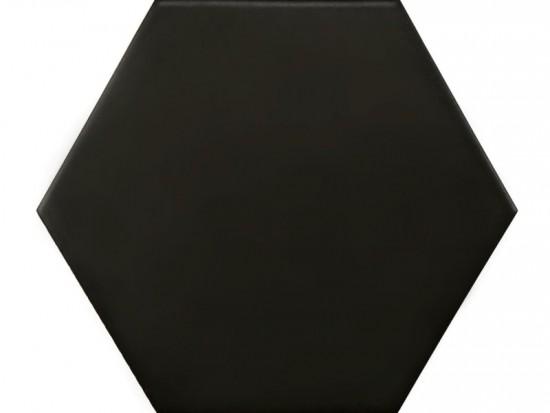 MONOCOLORES HEX NEGRO 22,5x25,9