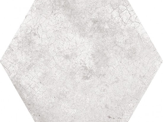 ROTERDAM HEX GRIS 22,5x25,9