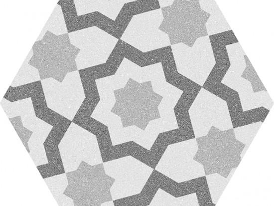 SPLIT HEX GRIS 22,5x25,9