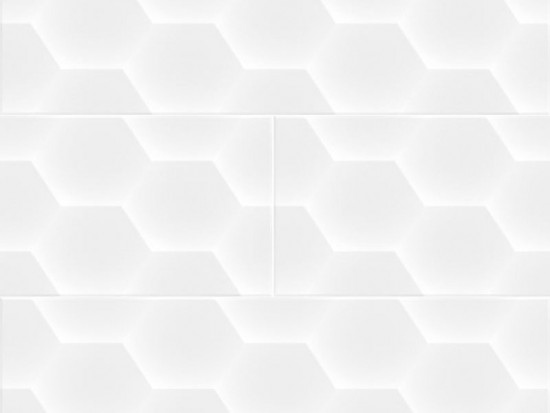 SOFT GEOM WHITE 20x60